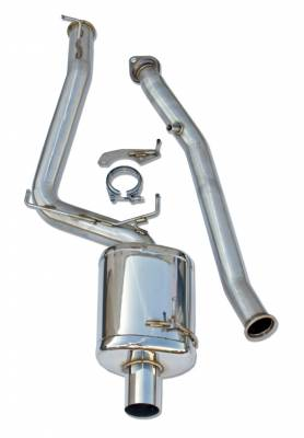"Exhaust - Full Exhaust Systems - Berk Technology  - Berk S2000 04-09 3"" Header Back Exhaust w/ Integrated Test Pipe (BT1604-TP-AP2)"