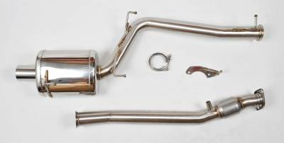 "Honda - S2000 - Berk Technology  - Berk S2000 04-09 3"" Header Back w/ High flow Cat (BT1604-HFC-AP2)"