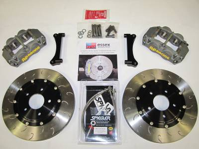 Braking - Big Brake Kit - AP Racing - Essex Designed AP Racing Competition Front Brake Kit Mitsubishi Lancer Evo VIII-IX (Bundle)