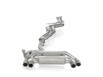 Exhaust - Full Exhaust Systems - Akrapovic - Akrapovic BMW 1M Evolution System Titanium