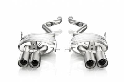 Exhaust - Catback Systems - Akrapovic - Akrapovic BMW E92 / 93 M3 Titanium Slip-on
