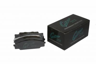 Featured Vehicles - Project Mu  - Project Mu Club Racer Front Honda S2000 Brake Pads PCR09F336