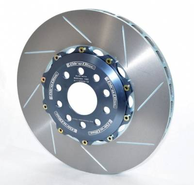 Shop by Category - Braking - Girodisc - Girodisc A1-120 Audi B5 S4 B6/B7 S4/A4 C5 A6/Allroad w/Brembo 6 Piston Caliper Front 2pc Rotors