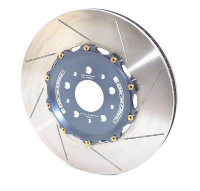 Brake Rotors Two-piece - Two-Piece Rear Rotors - Girodisc - Girodisc A2-110 Ferrari 430 Scuderia Rear 2pc Floating Rotors