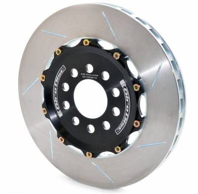 Brake Rotors Two-piece - Two-Piece Rear Rotors - Girodisc - Girodisc A2-102 Ferrari 430 Challenge Rear 2pc Floating Rotors