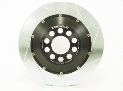 Brake Rotors Two-piece - Two-Piece Rear Rotors - Girodisc - Girodisc A2-015 Ferrari 360 Challenge Rear 2pc Floating Rotor