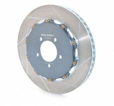 Brake Rotors Two-piece - Two-Piece Rear Rotors - Girodisc - Girodisc A2-016-2 Ferrari F40 Rear 2pc Floating Rotors