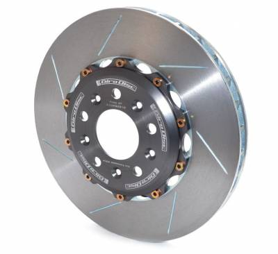 Brake Rotors Two-piece - Two-Piece Rear Rotors - Girodisc - Girodisc A2-043 Ford GT Rear 2pc Floating Rotors