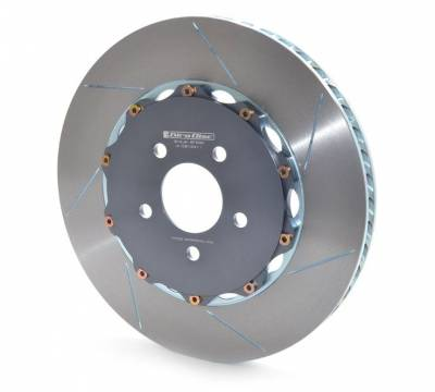 Braking - Brake Rotors Two-piece - Girodisc - Girodisc A1-081 Ford Mustang GT500 Front 2pc Floating Rotors