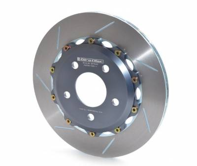 Brake Rotors Two-piece - Two-Piece Rear Rotors - Girodisc - Girodisc A2-081 Ford Mustang GT500 Rear 2pc Floating Rotors