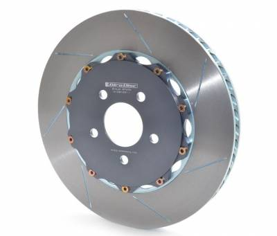 Shop by Category - Braking - Girodisc - Girodisc A1-081 Ford Mustang GT w/ Brembo Upgrade 2011+ Front 2pc Floating Rotors