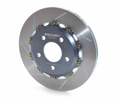Brake Rotors Two-piece - Two-Piece Front Rotors - Girodisc - Girodisc A1-081 Ford Boss Front 302 2pc Rotors