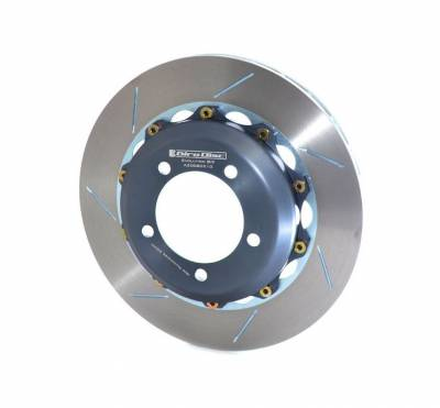 Braking - Brake Rotors Two-piece - Girodisc - Girodisc A2-008 Mitsubishi Evo 6 / 7 / 8 / 9 2pc Replacement Rear Rotor
