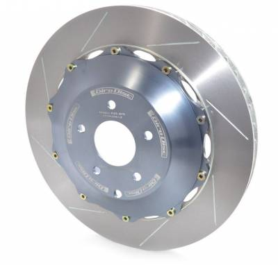 Brake Rotors Two-piece - Two-Piece Rear Rotors - Girodisc - Girodisc A2-083 Nissan GTR Rear 2pc Rotors