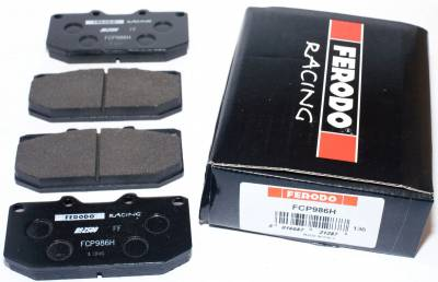 Featured Vehicles - Ferodo  - Ferodo DS2500 FCP0986H Nissan 300ZX, WRX Front Brake Pads