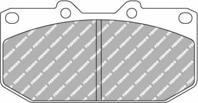 Featured Vehicles - Subaru - Ferodo  - Ferodo DS3000 FCP0986R 300ZX, WRX Front Brake Pads