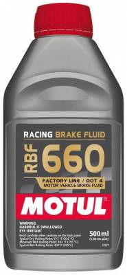 Braking - Brake Fluid - Motul  - Motul RBF 660 - Racing DOT 4 (500mL/ 1.05 US Pint)