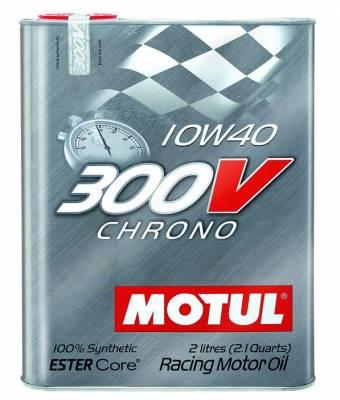 Motul  - Motul 300V CHRONO 10W40 (2L/2.1Quart)