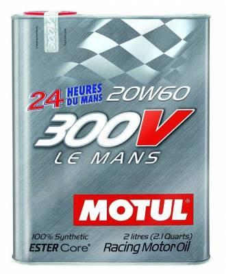 Motor Oil and Fluids - Motor Oil - Motul  - Motul 300V LE MANS 20W60 (2L/2.1Quart)
