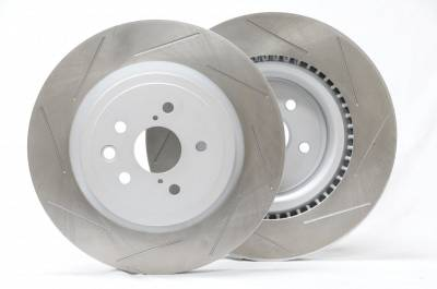 Project Mu  - Project Mu Club Racer Lexus IS-F Rear Discs Rotor PCRLXDR9120 PLXDR9120