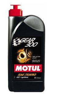 Motor Oil and Fluids - Transmission Fluid - Motul  - Motul GEAR 300 75W90 - 100% Synthetic Ester (1L/ 1.05qt.)