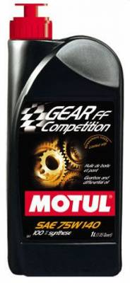 Motor Oil and Fluids - Transmission Fluid - Motul  - Motul GEAR FF COMP 75W140 (LSD) - 100% Synthetic Ester (1L/ 1.05 qt.)