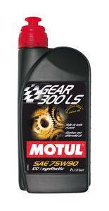 Motor Oil and Fluids - Transmission Fluid - Motul  - Motul GEAR 300 LS 75W90 (1L/ 1.05qt.)