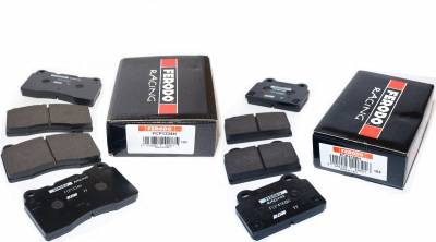 Mitsubishi - Lancer Evolution X - Ferodo  - Ferodo DS2500 Front and Rear Brake Pads EVO X (FCP1334H and FCP4168H)