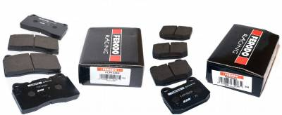 Mitsubishi - Lancer Evolution IX - Ferodo  - Ferodo DS2500 Front and Rear Brake Pads EVO VIII / IX (FCP1334H and FCP1562H)