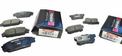 Honda - S2000 - Ferodo  - Ferodo DS2500 Front and Rear Brake Pads Honda S2000 (FCP1444H and FCP956H)