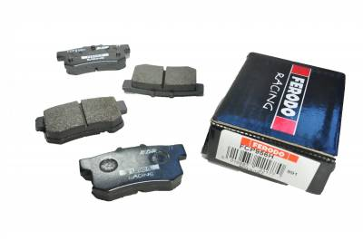 Featured Vehicles - Honda - Ferodo  - Ferodo DS2500 FCP0956H Honda S2000 Rear Brake Pads