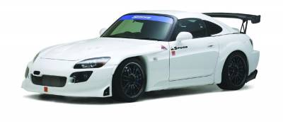 Aerodynamics - Wide Fenders - Spoon Sports - Spoon Sports Front Fenders Honda S2000