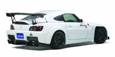 Aerodynamics - Wide Fenders - Spoon Sports - Spoon Sports Rear Fenders Honda S2000
