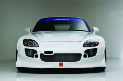 Aerodynamics - Bumpers/Lips - Spoon Sports - Spoon Sports S-Tai Front Bumper Honda S2000