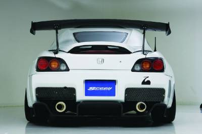 Aerodynamics - Bumpers/Lips - Spoon Sports - Spoon Sports S-Tai Rear Bumper Honda S2000