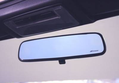 Aerodynamics - Mirrors  - Spoon Sports - Spoon Sports Blue Wide Rear View Mirror Honda S2000