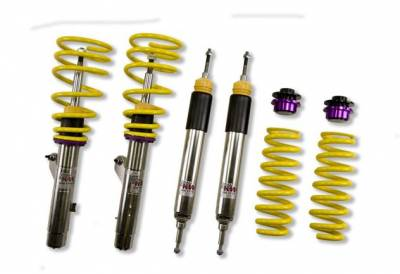 1 Series - E82/E88 135i 2008+ - KW Suspension - KW Coilover Kit V3 BMW 1series Coupe E87