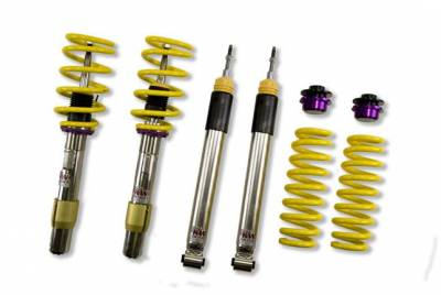 KW Suspension - KW Coilover Kit V3 BMW M3 E92 Convertible Non-EDC