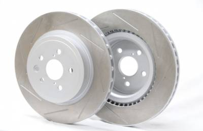 Brake Rotors One-piece  - One-Piece Front Rotors - Project Mu  - Project Mu Club Racer Lexus IS-F Front Discs (Rotor Set Front Axle) PCRLXDF9309 PLXDF9309