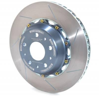 Brake Rotors Two-piece - Two-Piece Rear Rotors - Girodisc - Girodisc A2-098 Lamborghini Murcielago Early (4/4 Pot) 2 Piece Rear Rotors
