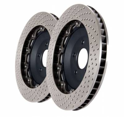 Featured Vehicles - StopTech - StopTech 355x32mm Drilled Rear Rotor Upgrade Dodge Viper