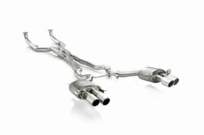 M Series - E60 M5 2003-2010 - Akrapovic - Akrapovic BMW M5 Evolution System Titanium