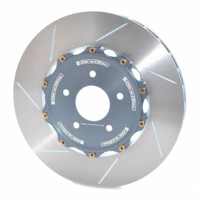 Braking - Brake Rotors Two-piece - Girodisc - Girodisc A1-130 Front Slotted 2pc Rotor Set for Audi B8 S4/S5