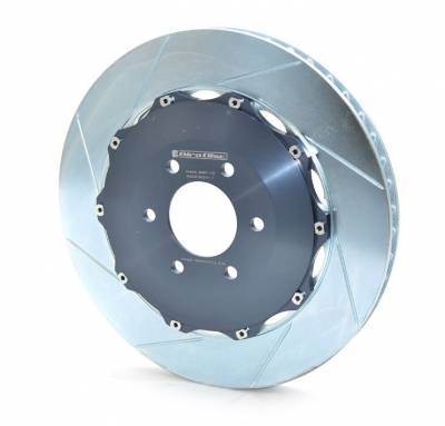 Brake Rotors Two-piece - Two-Piece Rear Rotors - Girodisc - Girodisc A2-096 Chevrolet Corvette C5/ C6 2pc Rear Floating Rotors
