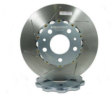 Brake Rotors Two-piece - Two-Piece Front Rotors - Girodisc - Girodisc A1-069 Ferrari 328 GTB / GTS 2pc Front Rotors