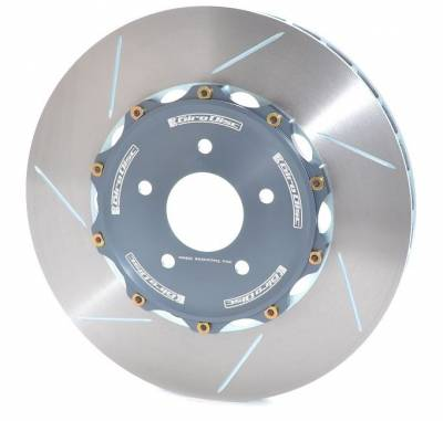 Braking - Brake Rotors Two-piece - Girodisc - Girodisc A1-070 Ferrari Mondial Front 2pc Floating Rotors