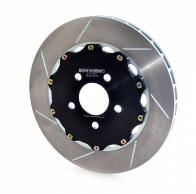 Brake Rotors Two-piece - Two-Piece Rear Rotors - Girodisc - GirodiscA2-034 Lamborghini Gallardo 2004-2008 Rear 2pc Rotors