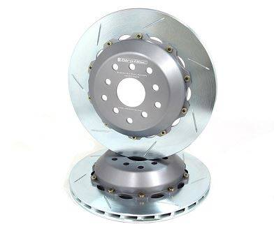 Brake Rotors Two-piece - Two-Piece Rear Rotors - Girodisc - Girodisc A2-095 Subaru STI 08-11 2pc Floating Rear Rotor
