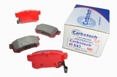 Honda - S2000 - Carbotech Performance Brakes - Carbotech Performance Brakes, CT537-1521