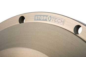 Left, Plain StopTech 30.646.1011.99 Aero Rotor with Hardware